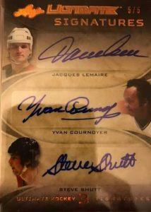Ultimate Triple Signatures Lemaire, Cournoyer, Shutt