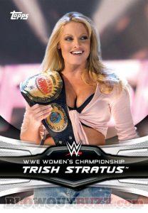 Divas Revolution Trish Championship