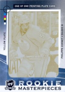 Upper Deck Plates Phillipe Cornet