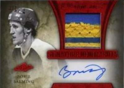 Ultimate Signature Memorabilia Prime Borje Salming