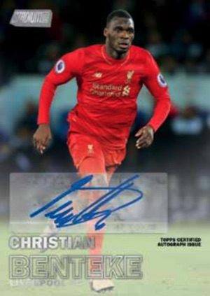 Stadium Club Autographs Christian Benteke