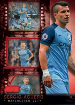 Stadium Club Contact Sheet Sergio Aguero