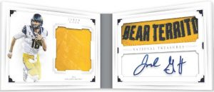 National Treasures Combo Player Signature Booklet