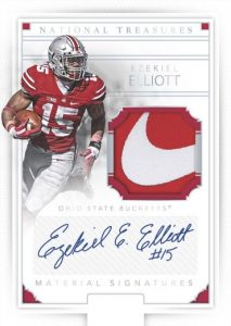 National Treasures Signatures Ezekiel Elliott