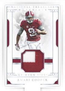 National Treasures Football Materials Amari Cooper