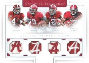 National Treasures Team Quads Alabama Crimson Tide