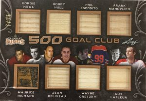 500 Goal Club Howe, Hull, Esposito, Mahovlich, Richard, Beliveau, Gretzky, Lafleur