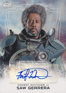 Rogue One Series 1 Forest Whitaker Auto