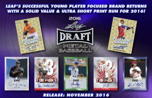 Leaf Metal Draft Baseball Banner