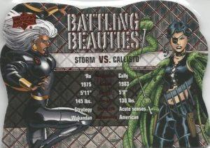 Battling Beauties Storm, Calisto