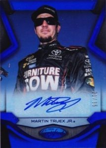 Certified Signatures Martin Truex Jr.