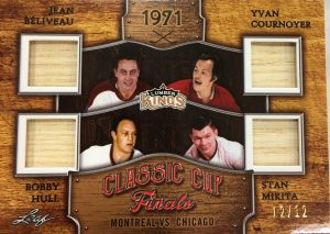 Classic Cup Finals Beliveau, Cournoyer, Hull, Mikita