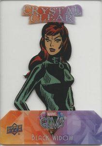Crystal Clear Black Widow