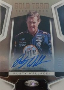Gold Team Signatures Rusty Wallace