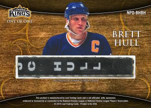 Nameplates Dual Back Brett Hull