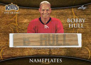Nameplates Dual Front Bobby Hull