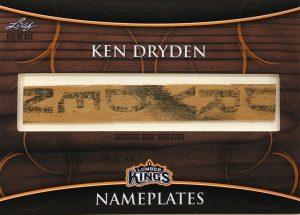 Nameplates Ken Dryden