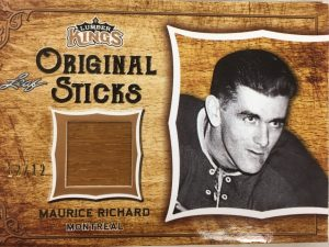 Original Sticks Maurice Richard