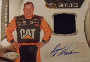 Sprint Cup Signature Swatches Ryan Newman