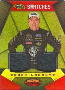 Sprint Cup Swatches Bobby Labonte