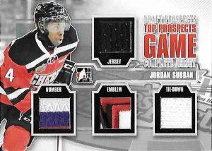 ITG Draft Prospects Top Prospects Complete Jersey Jordan Subban