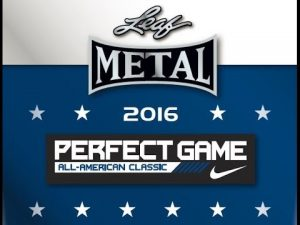 Leaf Metal Perfect Game All-American Banner