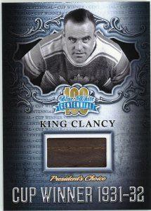 Cup Winner King Clancy