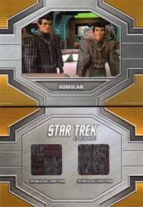 Dual Relic Booklets Romulans