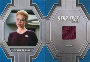 Relic Booklets Seven of Nine