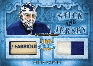 Stick and Jersey Felix Potvin