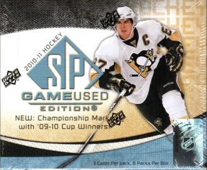 2010-11 SP Game Used Box