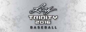 2016 Leaf Trinity Baseball Banner