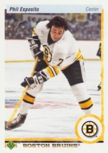 20th Anniversary Retired Stars Phil Esposito