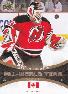 All-World Team Martin Brodeur