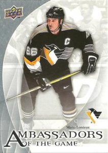 Ambassadors of the Game Mario Lemieux