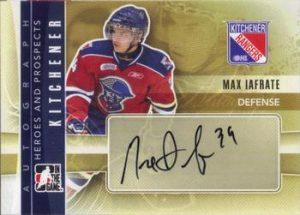 Autographs Max Iafrate