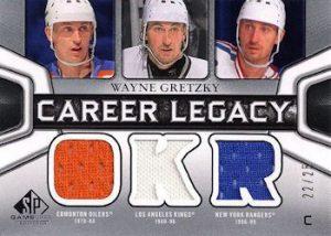 Career Legacy Jersey Triple Wayne Gretzky