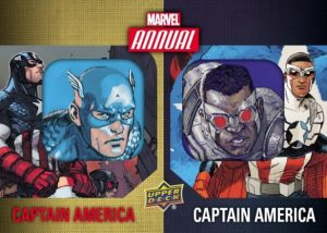 Dual Character Patches Captain America SP