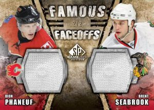 Famous Faceoffs Dion Phaneuf, Brent Seabrook