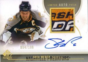 Limited Auto Patch Shea Weber
