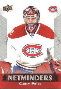 Netminders Carey Price