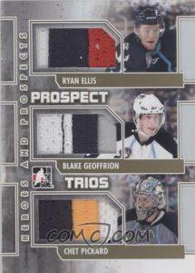 Prospect Trios Ryan Ellis, Blake Geoffrion, Chet Pickard