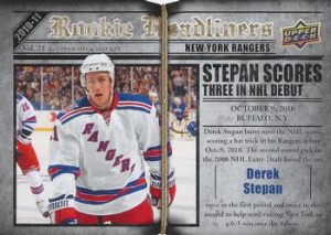 Rookie Headliners Derek Stepan