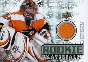 Rookie Materials Sergei Bobrovsky