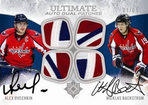 Ultimate Dual Auto Patches Alex Ovechkin, Nicklas Backstrom