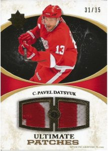 Ultimate Patches Pavel Datsyuk