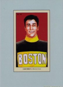 100 Years of Hockey Card Collecting Cam Neely