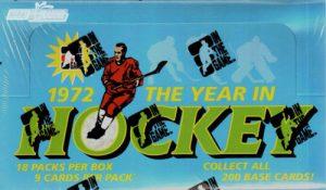 1972 The Year in Hockey Box