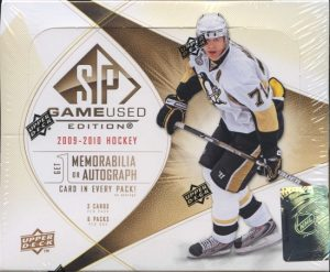 2009-10 SP Game Used Box
