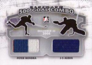 500 Goal Combos Peter Bondra, JS Aubin